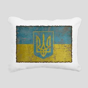 Vintage Ukraine Rectangular Canvas Pillow