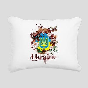Butterfly Ukraine Rectangular Canvas Pillow