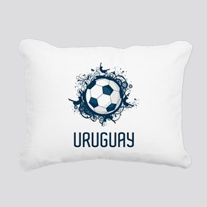 Uruguay Football Rectangular Canvas Pillow