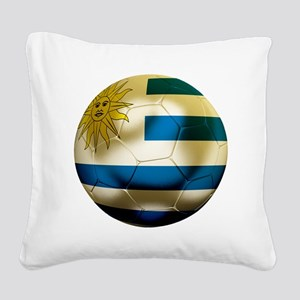 Uruguay World Cup Square Canvas Pillow