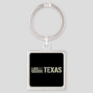 Black Flag: Texas Square Keychain