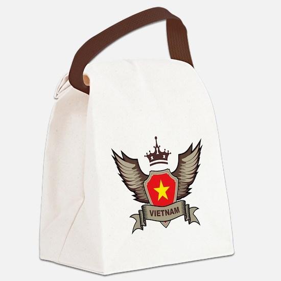 Vietnam Emblem Canvas Lunch Bag