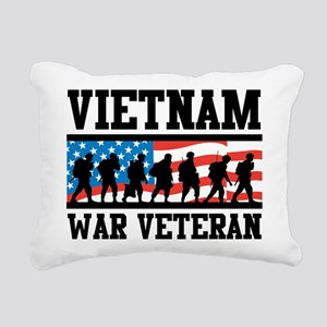 Vietnam War Veteran Rectangular Canvas Pillow