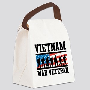 Vietnam War Veteran Canvas Lunch Bag