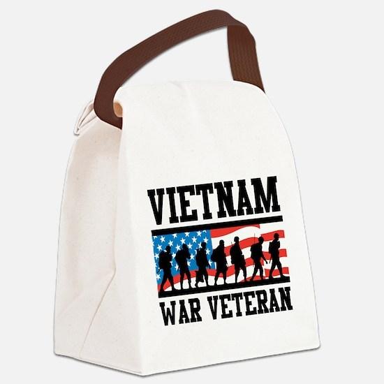 Vietnam War Veteran Canvas Lunch Bag