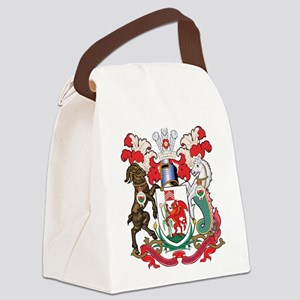 Cardiff Coat Of Arms Canvas Lunch Bag