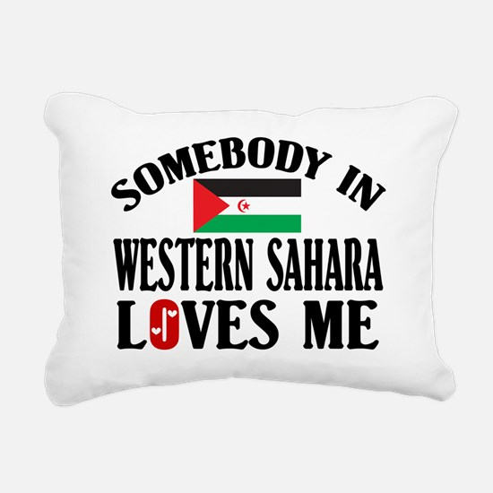 Somebody In Western Sahara Rectangular Canvas Pill