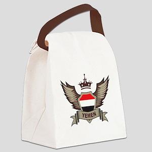 Yemen Emblem Canvas Lunch Bag