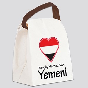 Happily Married Yemeni Canvas Lunch Bag