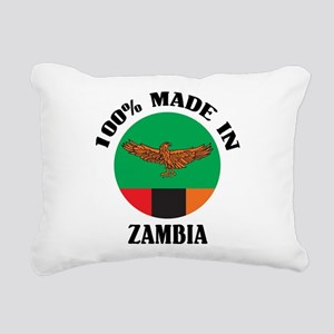 Made In Zambia Rectangular Canvas Pillow
