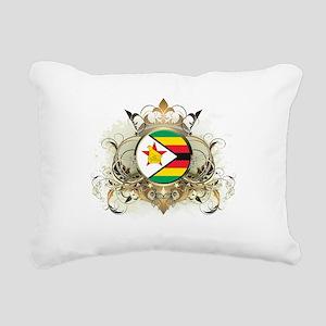 Stylish Zimbabwe Rectangular Canvas Pillow