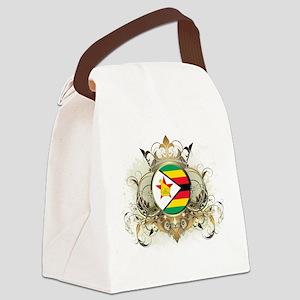 Stylish Zimbabwe Canvas Lunch Bag