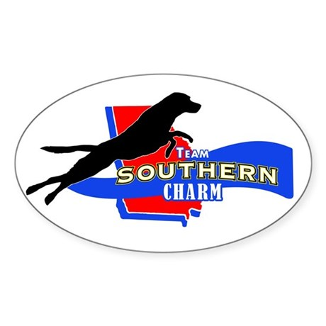 TSCharm Logo 2012 Sticker (Oval 10 pk)