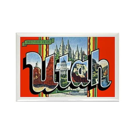 Utah Greetings Rectangle Magnet (10 pack)