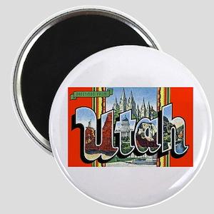 Utah Greetings Magnet