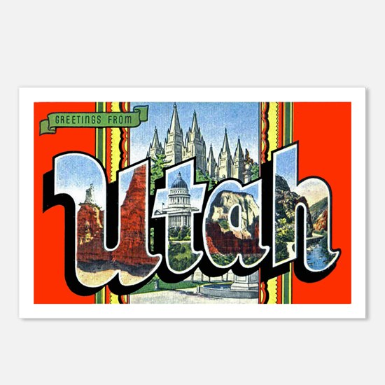 Utah Greetings Postcards (Package of 8)