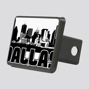 Dallas Skyline Rectangular Hitch Cover
