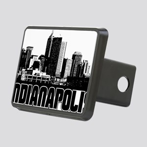 Indianapolis Skyline Rectangular Hitch Cover