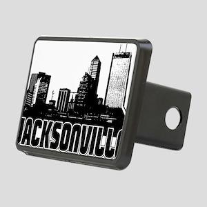 Jacksonville Skyline Rectangular Hitch Cover