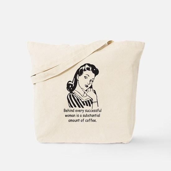 Vintage Housewife Tote Bag