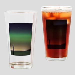 Camano Island, Washington Northern Lights Drinking
