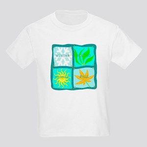 """Four Seasons"" Kids T-Shirt"
