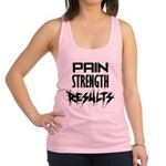 pain-results Racerback Tank Top