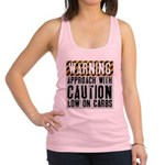 warning-approach-with-caution Racerback Tank T