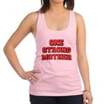 one-strong Racerback Tank Top