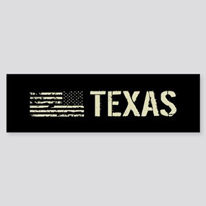 Black Flag: Texas Sticker (Bumper)