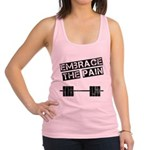 embrace-the-pain Racerback Tank Top