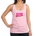 gym-whore-CAP Racerback Tank Top