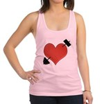heart Racerback Tank Top