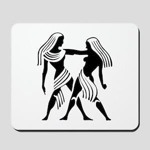 Gemini - The Twins Mousepad
