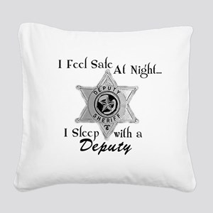 slpdeputy Square Canvas Pillow