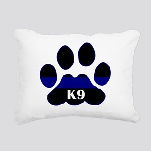 k9blue Rectangular Canvas Pillow