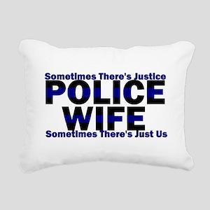 wifejustice Rectangular Canvas Pillow