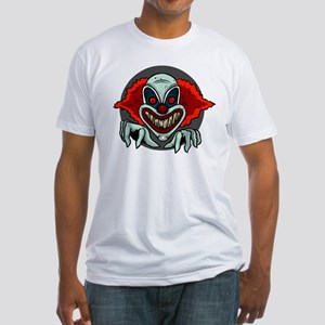 Evil Clown Fitted T-Shirt