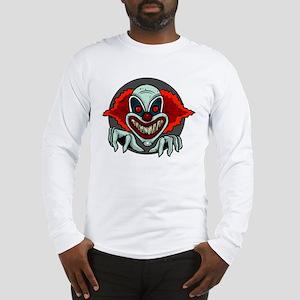Evil Clown Long Sleeve T-Shirt