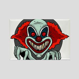 Evil Clown Rectangle Magnet