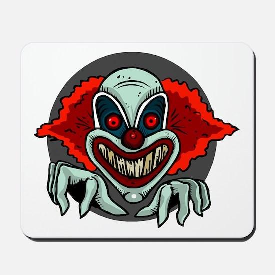 Evil Clown Mousepad