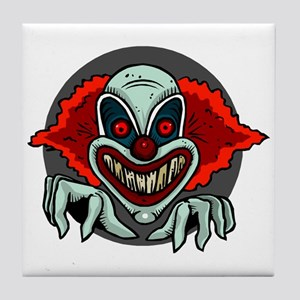 Evil Clown Tile Coaster