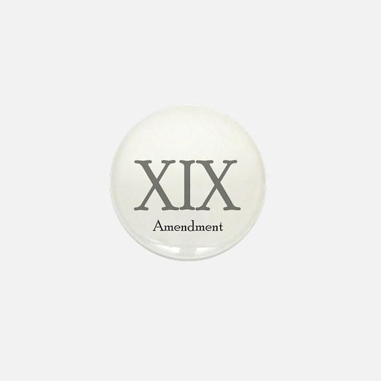 XIX Amendment Mini Button