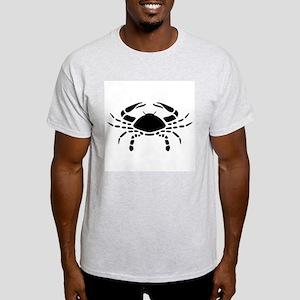 Cancer - The Crab Ash Grey T-Shirt