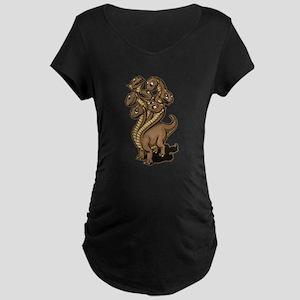 Hydra Maternity Dark T-Shirt