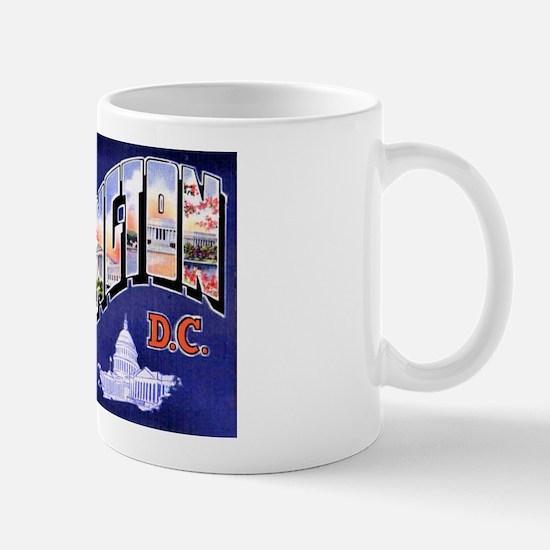 Washington, D.C. Greetings Mug