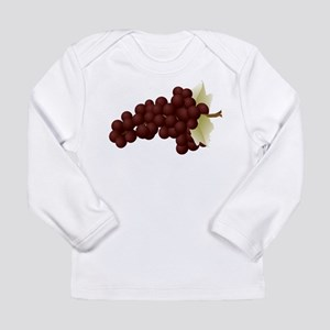Grapes Long Sleeve Infant T-Shirt