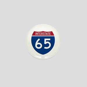 I-65 Highway Mini Button