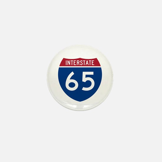 I-65 Highway Mini Button