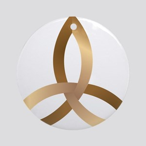 Holy Trinity Ornament (Round)